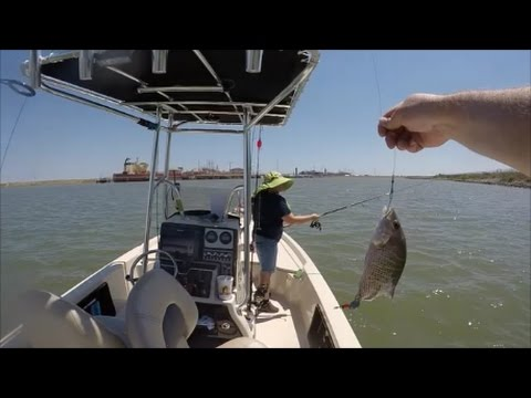 Fishing with sendi don episode 2 mangrove trout reds for Fishing report freeport tx