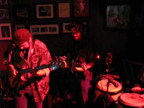 The Motive, a San Francisco Bay Area acid jazz collective, plays an improvisational jam.