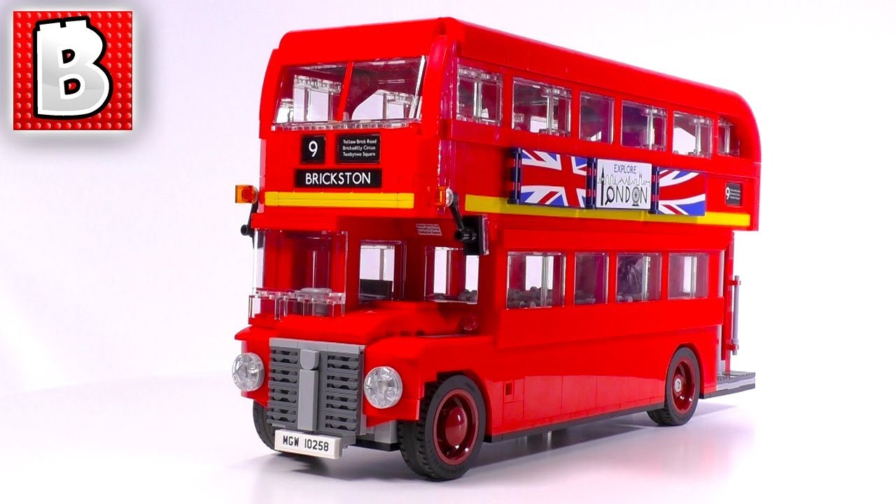 lego creator london bus 10258 unbox build time lapse review youtube. Black Bedroom Furniture Sets. Home Design Ideas