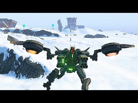 [B.o.T] ANDROID - Cormorant Arctic Map Gameplay | All Weapons Tested - Battle Of Titans Beta