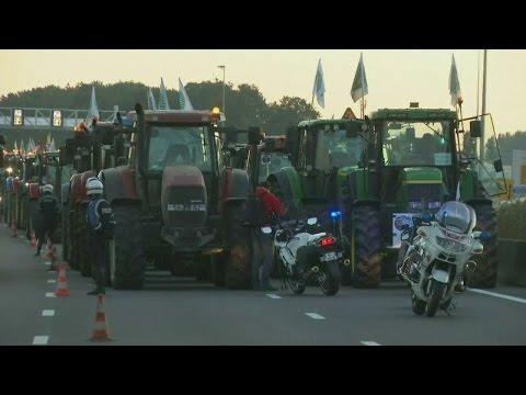 Chaos op Franse wegen