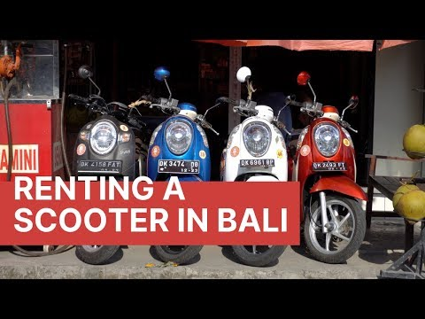 Watch This BEFORE You Rent A Motorbike In Bali