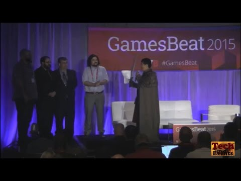 GamesBeat 2015 Conference Event Keynote Part 1