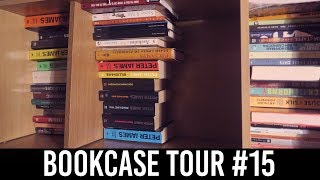 Bookshelf Tour Part #15: Hans Hirschi, Nick Hornby, Oli Jacobs, Peter James, More! [42 BOOKS]