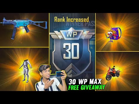 PUBG Mobile Lite Season 23 Winner Pass 30 WP Max Out | Free Giveaway | Pubg Lite New Season