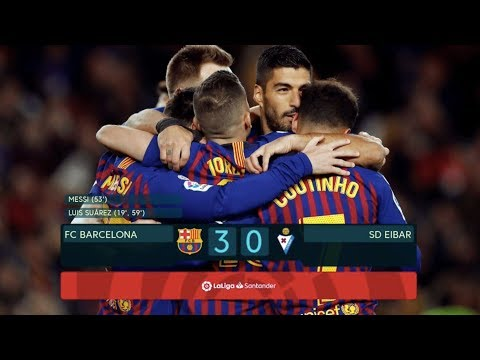 Barcelona vs Eibar [3-0], La Liga 2019 - MATCH REVIEW