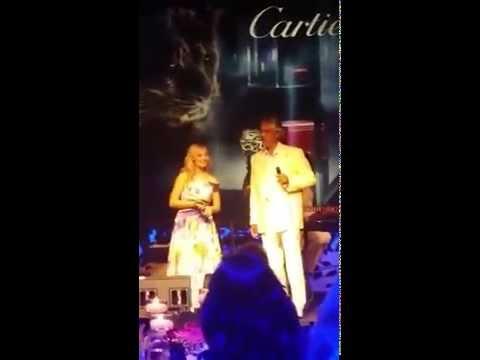 Jackie Evancho and Andrea Bocelli - Con te Partiro - Italy - 09-11-2015