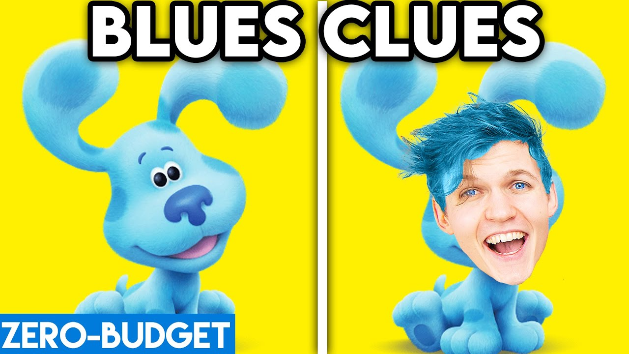 Download BLUES CLUES WITH ZERO BUDGET! (Blues Clues FUNNY PARODY By LANKYBOX!)