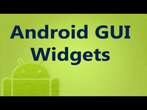 6. Android GUI Widgets (in Arabic)