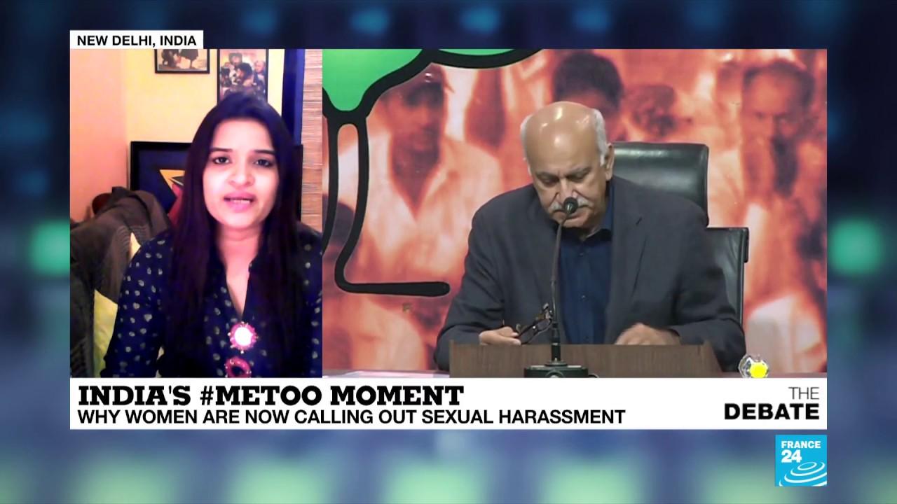 فرانس 24:India's #MeToo moment: Shutapa Paul calls out former boss MK Akbar