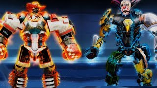 2 FUNNY ROBOTS FIGHT in PvP Real Steel Boxing Android Gameplay HD