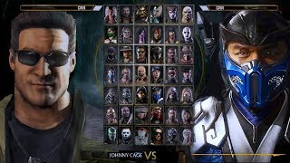 MORTAL KOMBAT 11 - All Characters Gameplay Walkthrough Demo (So Far)