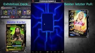 SS Fusion+Throwback Karten!!WWE SuperCard!!!