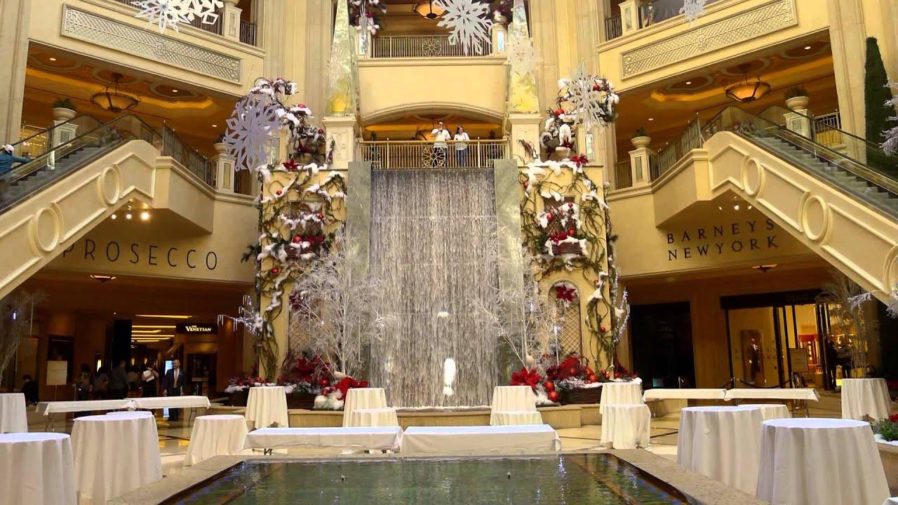Las Vegas Christmas Venetian Hotel And Palazzo Hotel