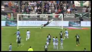 Sassuolo-Lazio 2-2 Highlights 2013/14