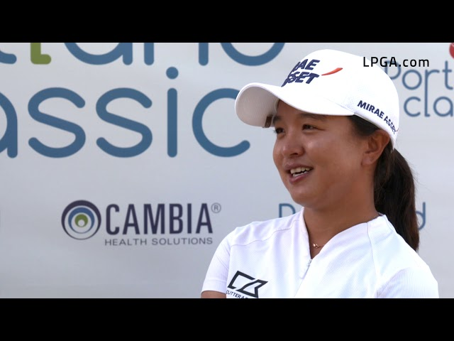 Sei Young Kim Posted a Second Round 61 in the 2019 Cambia Portland Classic