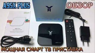 A95X Plus TV Box Обзор Мощной Смарт ТВ приставки Amlogic S905 Y2 Android 8 .1 Ram 4GB + Rom 32GB