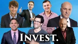 How To Invest Your Money - Ashton Kutcher, Gary Vaynerchuk, Tai Lopez - 12 Ways to Invest Your Money