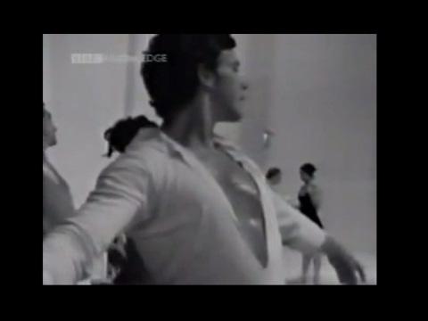 Anthony Dowell Rehearses 'Monotones' with Frederick Ashton (1966)