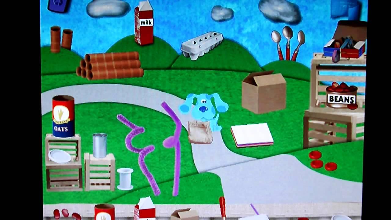 Blue's Clues Art Time Activities Part 8 (Final) - YouTube