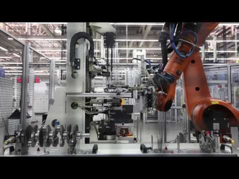 NILES-SIMMONS Crankshaft Production Line / Turnkey Line for