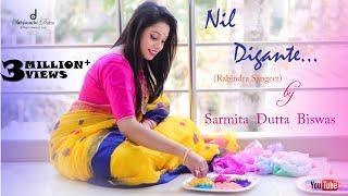 Nil Digante (নীল দিগন্তে) |  Rabindra Sangeet | Sarmita Dutta Biswas |  Song