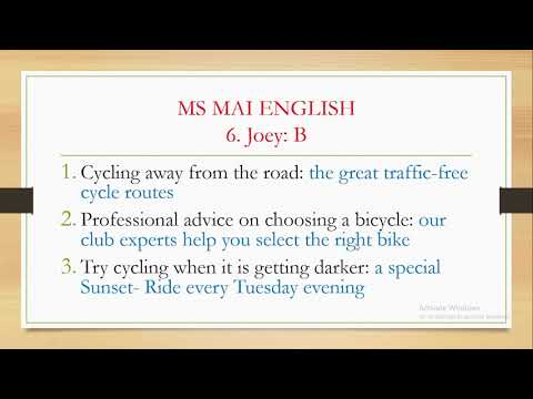 PET READING PART 2 (BÀI 2) | CHỮA BÀI VÀ GIẢI THÍCH CHI TIẾT ĐÁP ÁN ĐỌC PHẦN 2 | MS MAI ENGLISH