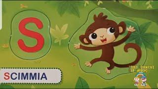 L'alfabeto degli Animali!!! impara nomi d'animale e l'alfabeto italiano