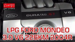 Montaż LPG Ford Mondeo z 3.0 V6 226KM 2004r w Energy Gaz Polska na gaz BRC Sequent P&D!(, 2015-10-30T08:57:16.000Z)