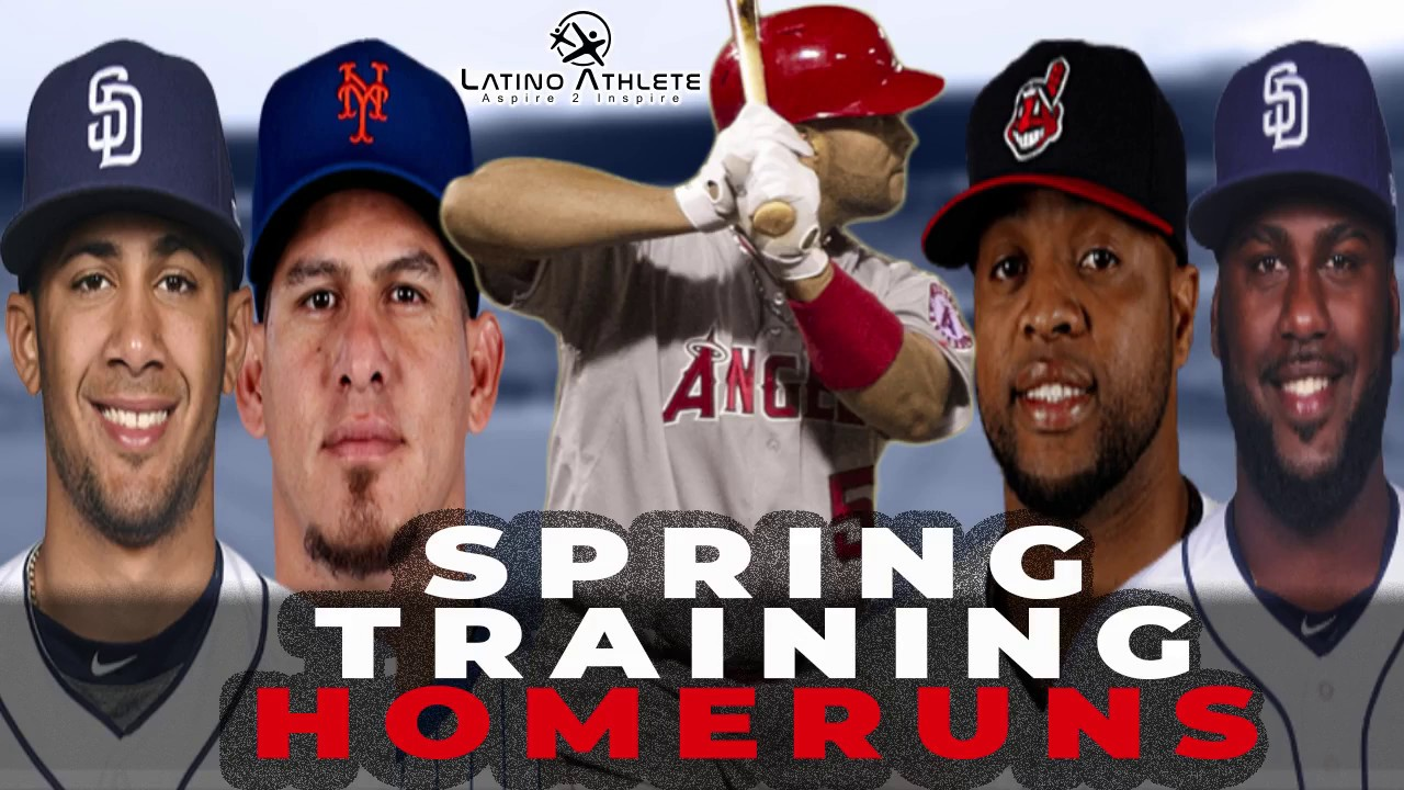 Spring Training Homeruns: Latino Players
