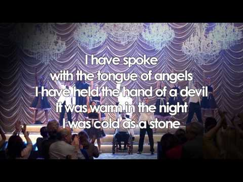 Glee - I Still Haven't Found What I'm Looking For (Lyrics)