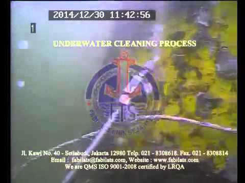 UNDERWATER CLEANING