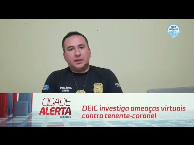 DEIC investiga ameaças virtuais contra tenente-coronel dos Bombeiros