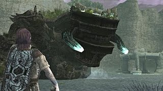 Shadow of the Colossus: Pelagia Boss Fight - 12th Colossus (PS3 1080p)