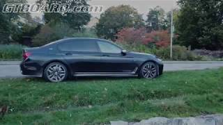 [4k] Sideview Azurit Black BMW M760Li PROFILE BEST BMW 7-series