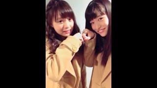 20161209 LINELIVE 原宿駅前パーティーズ 東慧依(原宿乙女)、横田美雪...