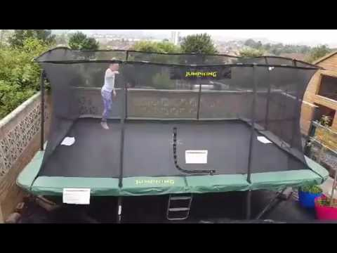 www.trampolines.co.uk product video Jumpking Rectangular ...