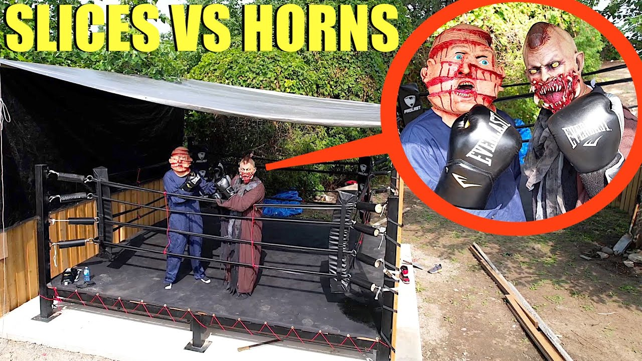 Download when you see Slices VS. Horns the Demon BOXING each other, RUN AWAY FAST! (Battle of the Demons)