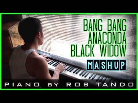 Bang Bang/Black Widow/Anaconda Piano Mashup | Rob Tando