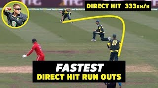🔥Direct Hit In Cricket - Longest direct hit in cricket🔥