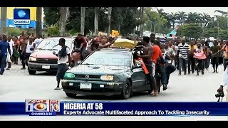 Nigeria's Security Challenges And Solutions After 58 Years Of Independence Pt.2 25/09/18 |News@10|