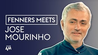 How Man Utd prepare for the Manchester derby   Fenners Meets Jose Mourinho