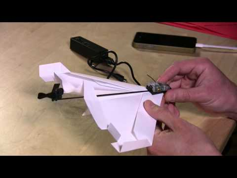 Powerup 3.0 Review - Fly a Paper Airplane with iPhone or Android Smartphone Control