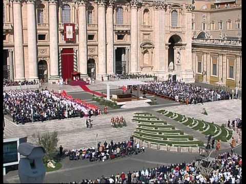 Pope Benedict XVI Palm Sunday 28 03 2010