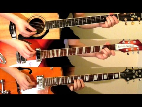 How To Play Can't Buy Me Love On Guitar - The Beatles