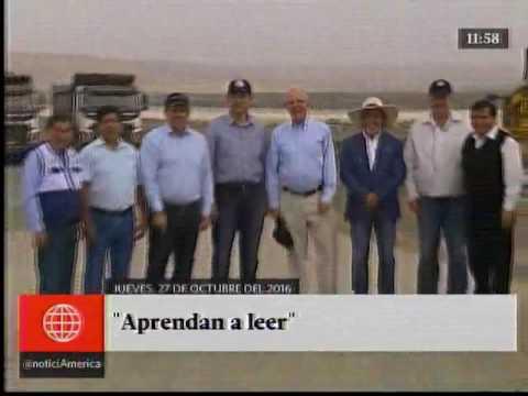 América Noticias: [TITULARES MEDIODIA 27/10/16]