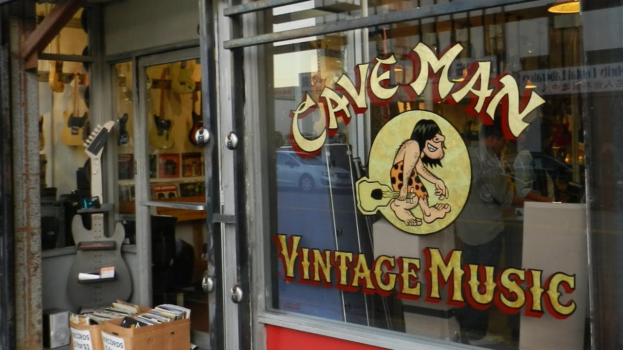 Old Caveman Show : Caveman vintage music chinatown l.a. s0302 youtube