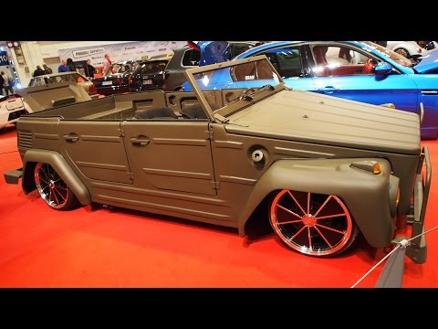 1975 Volkswagen 181 Kübelwagen 60hp Tuning at Essen Motorshow - Exterior Walkaround