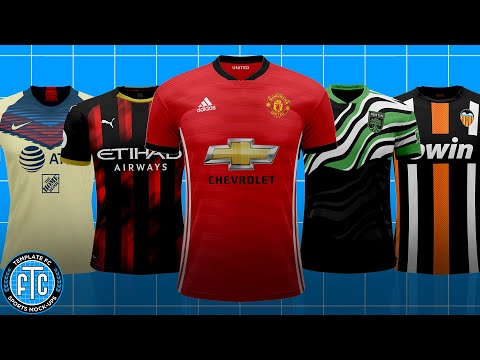How To Create A Football/Soccer Jersey (Standard Style) - TemplateFC