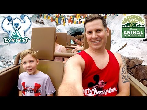 ANIMAL KINGDOM! Expedition Everest POV, Kali River Rapids, and Tusker House!
